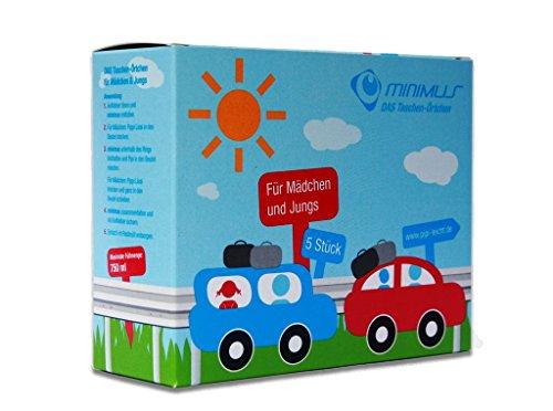minimus – das Taschen-Örtchen, Das mobile Einweg-WC,Wegwerf Urinal Camping WC