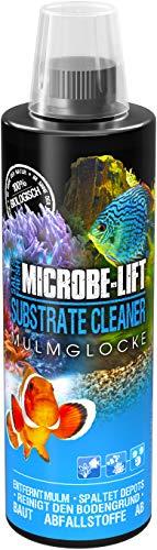 MICROBE-LIFT Substrate Cleaner – hochaktive Bakterien zur Mulm- & Schmutzentfernung im Aquarium, Süß- und Meerwasser, 473ml