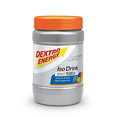 Isotonisches Getränkepulver von Dextro Energy / Iso Fast Orange Fresh / 440g Fitness Getränkepulver mit Elektrolyte / Ideales Sport Pulver Getränk