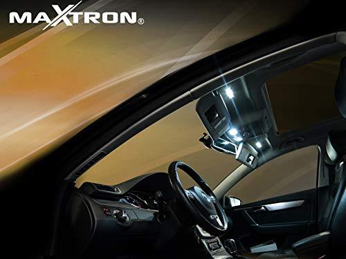 MaXtron Innenraumbeleuchtung Set für Auto Astra J 6000K Kalt Weiß Beleuchtung Innenlicht Komplettset