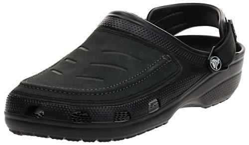Croc's Herren Crocs Yukon Vista 205177-22Z Clogs, Black/Black, 41/42 EU