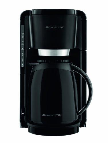 Rowenta CT3808 Adagio Thermo Kaffeemaschine, 8 bis 12 Tassen 1.25 L, schwarz