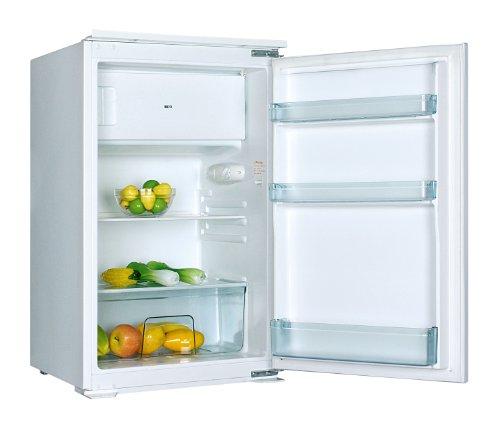 PKM KS120.4EB Einbaukühlschrank mit Gefrierfach / A+ / 88.87 cm Höhe / 223 kWh/Jahr / 105 L Kühlteil / 15 L Gefrierteil