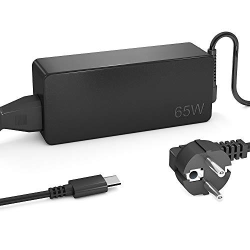QYD 65W USB Type-C PD Netzteil Notebook Ladegerät für Lenovo Yoga 720 (13