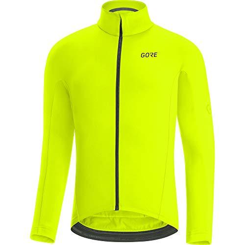 GORE WEAR Herren Thermo Fahrrad-Trikot, C3, XL, Neon-Gelb