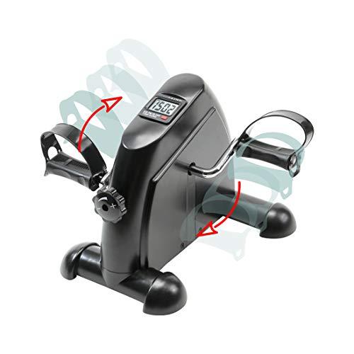 zoomyo Peak Power Arm- und Beintrainer Mini-Bike Semi-Professional und 3in1-Trainer, kompaktes Heimtrainer zur Stärkung der Arm- und Beinmuskulatur, Fitness-Bike mit Trainingscomputer