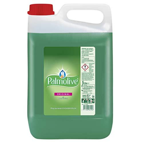 Palmolive Geschirrspülmittel Original, 5 l - Spülmittel mit hoher Fettlösekraft für strahlend sauberes Geschirr, sanft zu den Händen