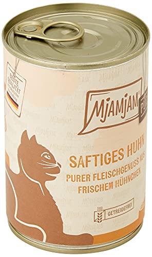 MjAMjAM purer Fleischgenuss - saftiges Hühnchen pur, 6er Pack (6 x 400g)