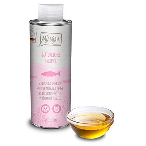 MjAMjAM natürliches Lachsöl für Hund und Katze 500 ml