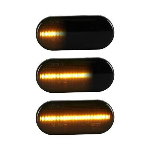 LED Seitenblinker Blinker kompatibel mit Golf 3 | 4 | Lupo | P-a-s-s-a-t 3B | 3BG | T5 | Leon | Ibiza | Fiesta | Focus |