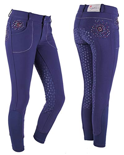 QHP Reithose Chelsey Junior voll-Grip - Size 152