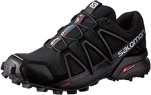 SALOMON Damen Speedcross 4 W Traillaufschuhe, Black Black Black Metallic, 39 1/3 EU