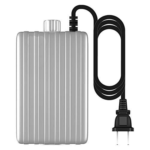H&RB 3.8W Doppel Outlet Aquarium Luftpumpe, Silent-Sauerstoff-Kompressor-Fisch-Behälter Teichbelüfter Mit Zubehör, Maximum Gas Volume2.3L / MIN