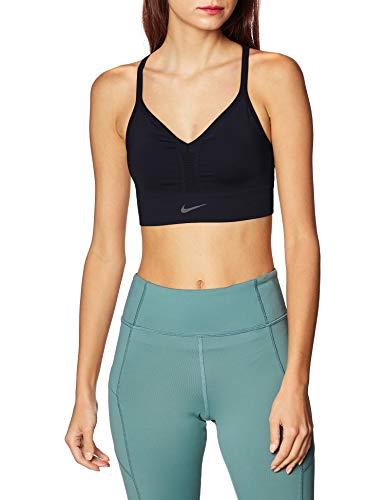 Nike Damen CJ5875-010 Sport-BH, Opacity, Gris, M
