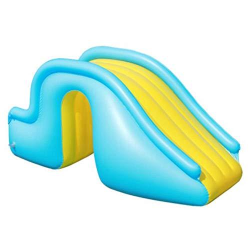 likeitwell Wasserrutsche,Pool Rutsche Aufblasbar Wasserspielcenter Aquarium Kinder Aufblasbare Burg Kinder Outdoor Kinderspielplatz Home Indoor Aufblasbares Spielzeug 150 X 62 X 90 cm