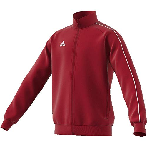 adidas CORE18 PES JKTY, Rot(Rot (Power Red/White)), 164