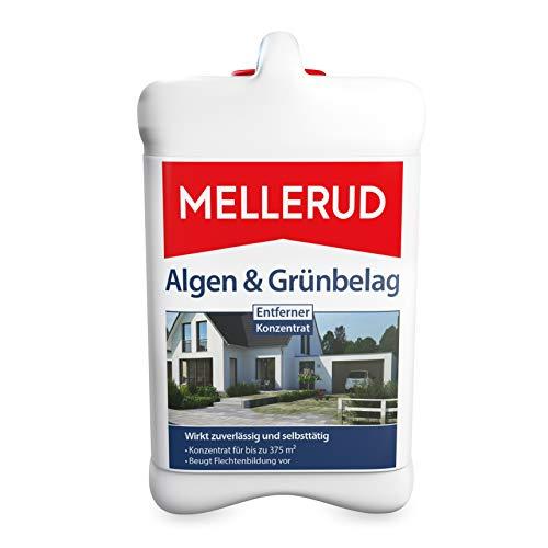 MELLERUD Algen & Grünbelag Entferner – Effizientes Reinigungsmittel zum Entfernen von Algen und Grünbelag – 1 x 2,5 l