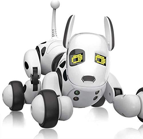 ADLIN Das elektronische Haustier, Roboter-Hund-Spielzeug, haben Follow-Up-Funktion, singen und tanzen for elektronische Roboter-Hund Haustier Spielzeug Smart Kids Interactive Gehschall Welpen mit LED-