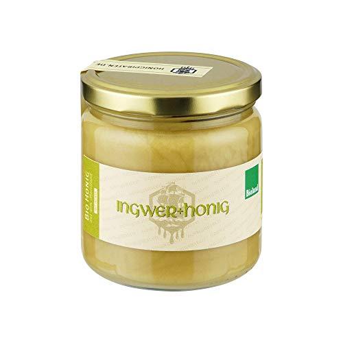 Honig mit Ingwer - 100% Bio Honig trifft Ingwer aus biologischem Anbau, der Begleiter durch den Winter