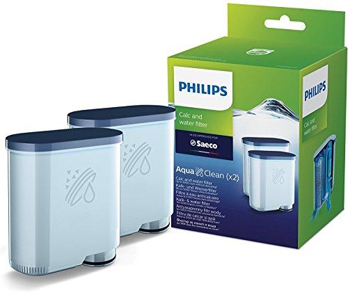 Philips AquaClean Wasserfilter für Kaffeevollautomaten, Doppelpack