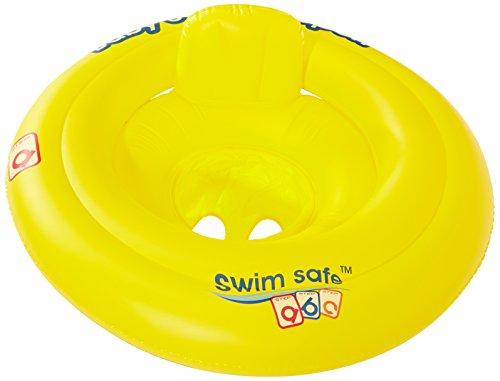 Bieco Schwimmring Baby Schwimmhilfe Gelb | Aufblasbar Baby Schwimmring ab 3 Monate | Baby-schwimmreifen | Aufblasartikel | Pool | Float | babyschwimmreifen | Babyschwimmring | Kinder | Kleinkind
