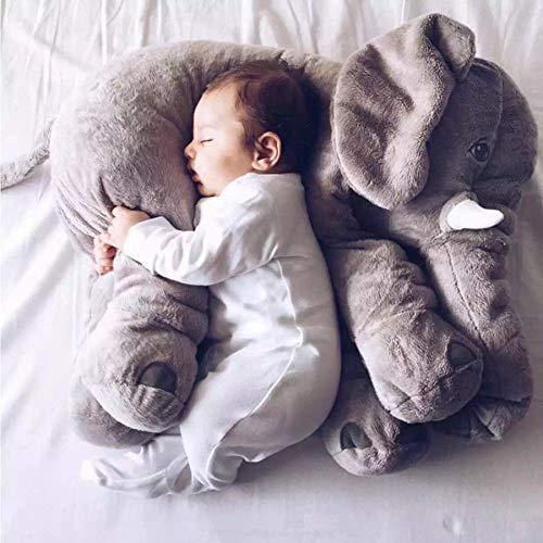 Baby Kissen,Lagerungskissen,Stillkissen,Baby Kissen Elefant Food Kissen Kinder Schlafzimmer Bettwäsche Dekoration Bebe Bett Bett Autositz Kinder Plüschtiere 60cm