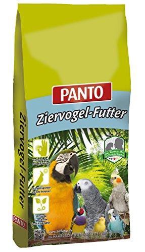 Panto Ziervogelfutter, Papageienfutter ohne Nüsse 25 kg, 1er Pack (1 x 25 kg)