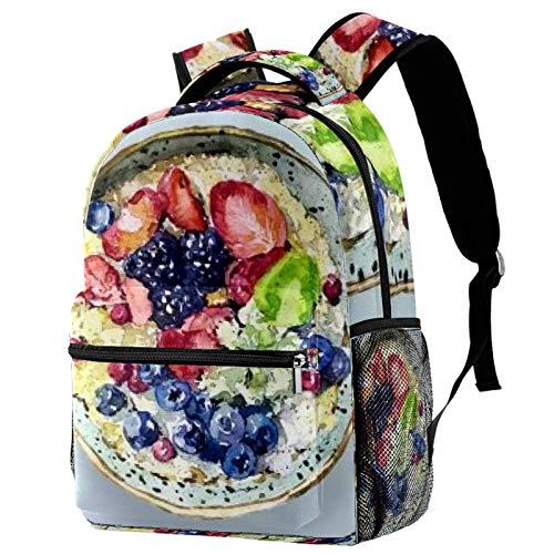 Rucksack mit Fettreduzierung für Obst und Joghurt, Schultasche, Reise, lässiger Tagesrucksack für Frauen, Teenager, Mädchen, Jungen