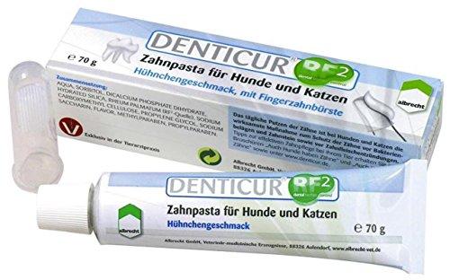 Denticur Zahnpasta RF2 mit Fingerzahnbürste