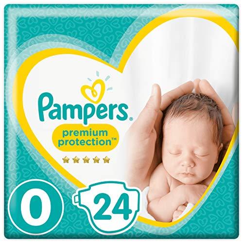 Pampers Premium Protection New Baby Größe 0, 1.5-2.5 kg, 6 x 24 Windeln