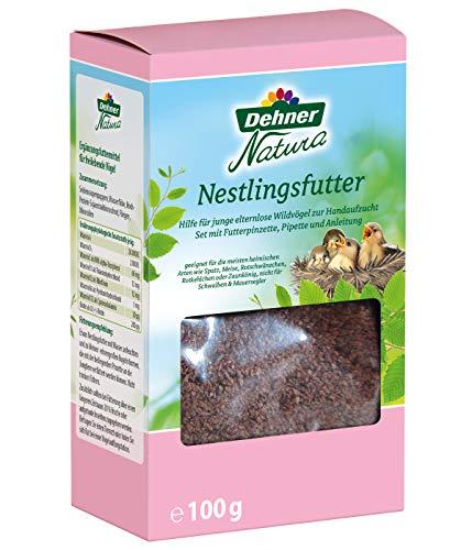 Dehner Natura Wildvogelfutter, Nestlingsfutter zur Aufzucht von Jungvögeln, 100g