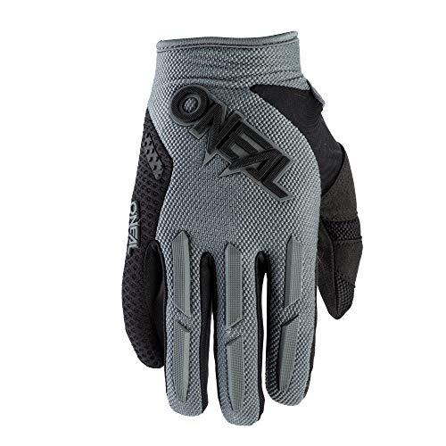 O'NEAL | Fahrrad-& Motocross-Handschuh | MX MTB Downhill Freeride | Langlebige, Flexible Materialien, luftdurchlässige Mesh-Einsätze | Element Glove | Erwachsene | Grau | Größe M