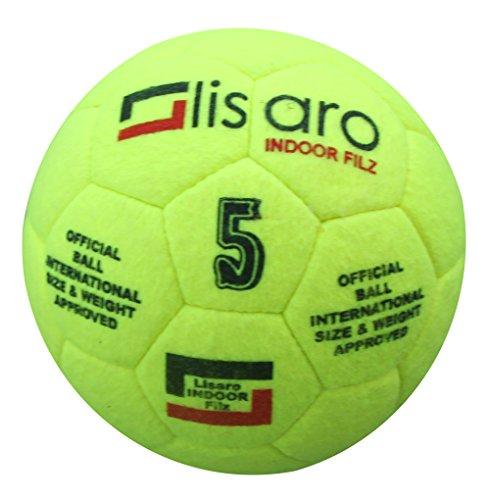 Lisaro Indoor Filz Hallenfußball Gr. 5   Hallenball   Indoorfußball   Spielball der Extraklasse