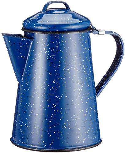GSI Kaffeekanne Emaille, blau, 15150