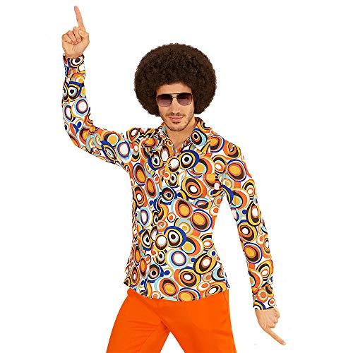 Widmann - 70er Jahre Hemd, Bubbles, Schlagermove, Karneval, Mottoparty