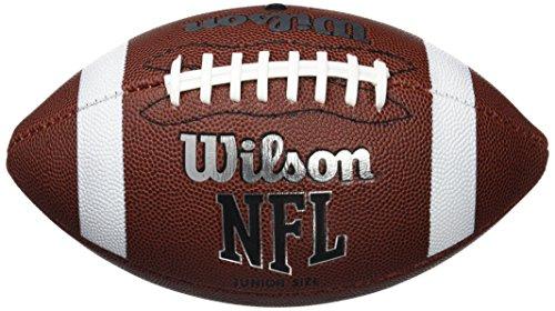 Wilson Unisex-Youth NFL JR FBALL BULK XB American Football, JUNIOR