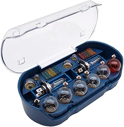 PKW H7 Beleuchtung Sicherungen Set 12V 30 tlg. Auto Lampen Birnen Bremslicht KFZ