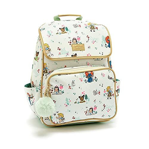 Disney Store Disney Animators' Collection Rucksack für Kinder, 46 cm, verstellbare Träger, 2 Seitentaschen, ID-Label, perfekt für die Schule