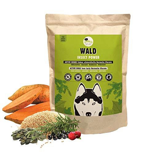 eat small Wald Proteinreiches Hundefutter aus Insekten für aktive Hunde, 1er Pack (1 x 2000 g)