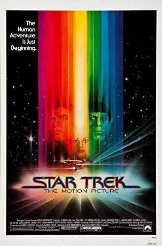 Star Trek The Motion Picture 1 Filmposter – Beste Druck-Kunstreproduktion Qualität Wanddekoration Geschenk – A2 Poster (24/41,9 cm) – (59/42 cm) – Hochglanz-Fotopapier