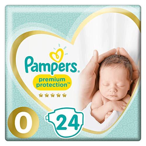 Windeln New Baby Größe 0 micro (1-2,5 kg) - 1 Packung x 24 Windeln