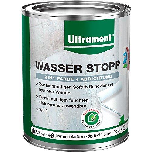 Ultrament Wasser Stopp, weiß, 2,5kg