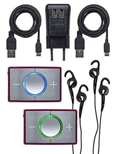 Ceecoach 2 Duo Bluetooth Kommunikation Und Gegensprechanlage Für Reitsport, Wintersport, Industrie, Bordeaux