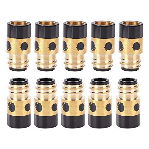 Zubehör für Schweißpistolenhalter aus Gasspitzenhalter aus hochwertigem 100% nagelneuem 350A für MIG MMA für gasgeschützten Schweißbrenner 10-tlg