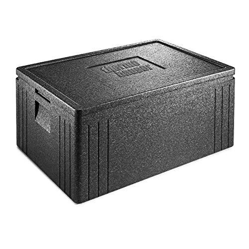 thermohauser EPP-Thermobox Universal Eco Line inklusive Deckel - 80 Liter Volumen - 68,5 x 48,5 x 36 cm - Basis-Modell für Bäcker & Konditor