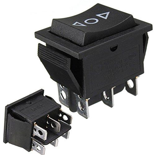 Wipptaster, 12V, AC 250V / 16A, 6-Pin-Schalter, 2-poliger Umschalter, für Antenne, elektrische Fensterheber, Schiebedächer