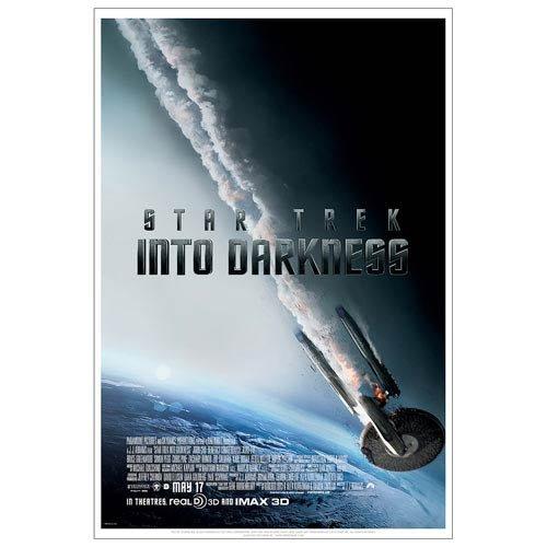 Star Trek Into Darkness Filmplakat Falling Enterprise