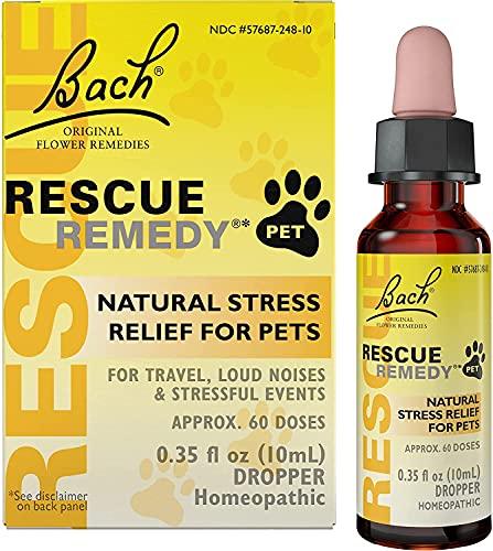 10ml Bach Flower Essences Rescue Remedy Pet, natural, remedies, cats, stress, pets, animals, reviews Haustier, Heimtierbedarf
