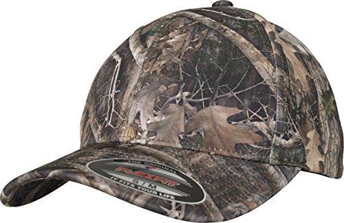 Flexfit True Timber Kanati Camo Cap - besonderes Camouflage Muster auf rundum geschlossener Kappe,mehrfarbig,S/M