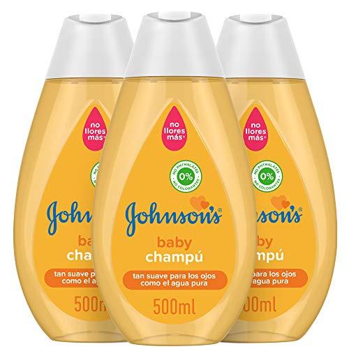 Johnson's Baby, Shampoo - 3 x 500 ml